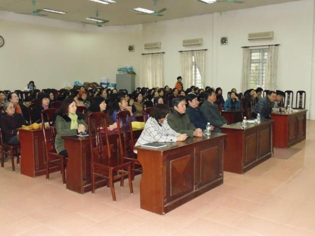 Lớp học Khí Công Y Đạo