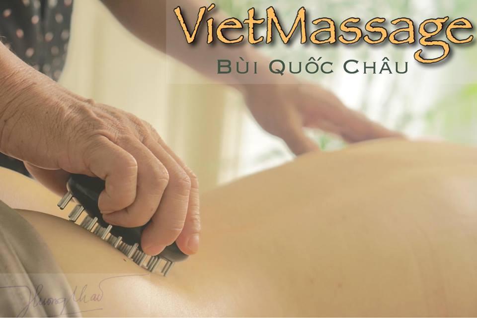 VietMassage Bùi Quốc Châu - kỹ thuật xoa bóp độc đáo của Việt Nam