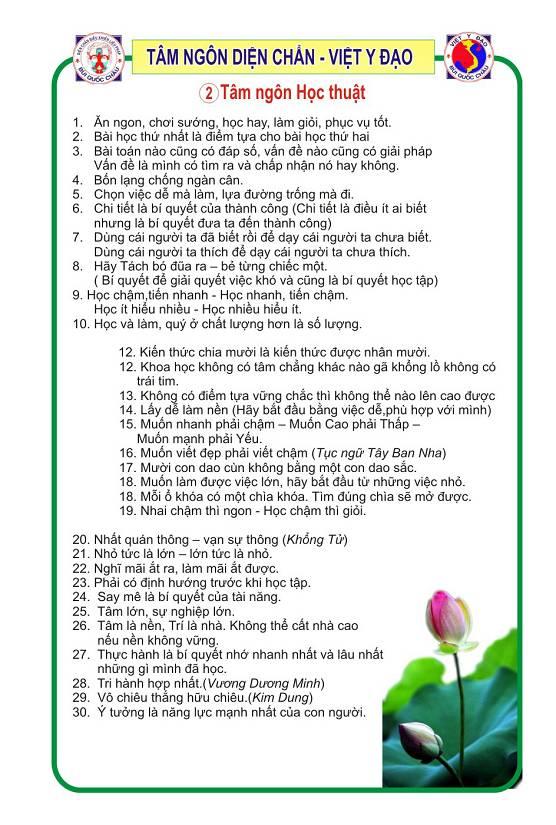 Tâm ngôn Diện Chẩn Y Đạo